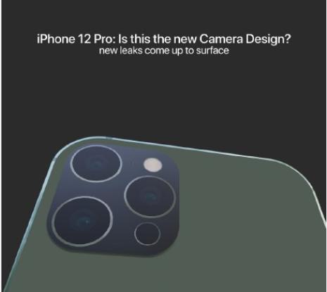 iPhone12 Pro相机造型曝光,三摄+激光雷达扫描仪,整体变化不大