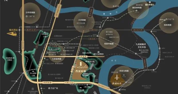 纯新面世!中国铁建西派宸樾江湾装修大平层已首开
