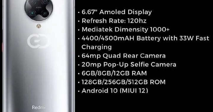 小米天玑1000+新机配置曝光:真全面屏