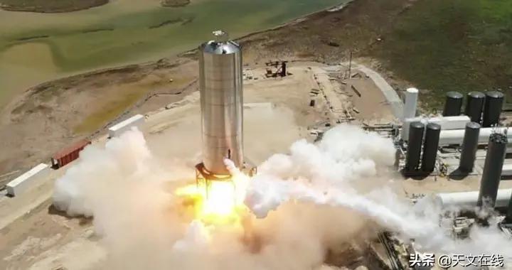 在首次试飞前,SpaceX发射了星际飞船SN5火箭原型