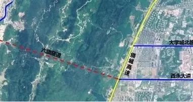 缓解璧山隧道车流压力,西部(重庆)科学城又一条隧道完成勘查设计招标