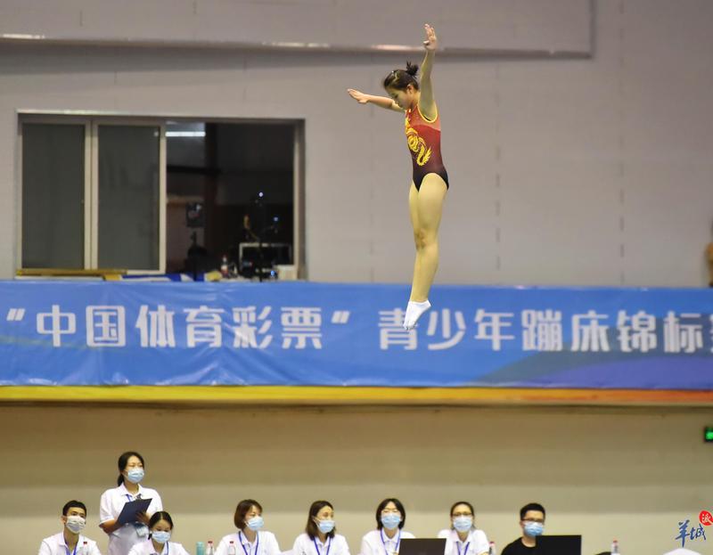 广东省青少年蹦床锦标赛落幕!佛山斩获2金1银2铜