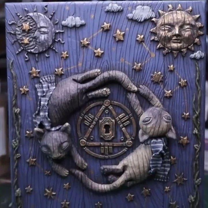 手工DIY巫师秘密橱柜主题模型,也太优秀了