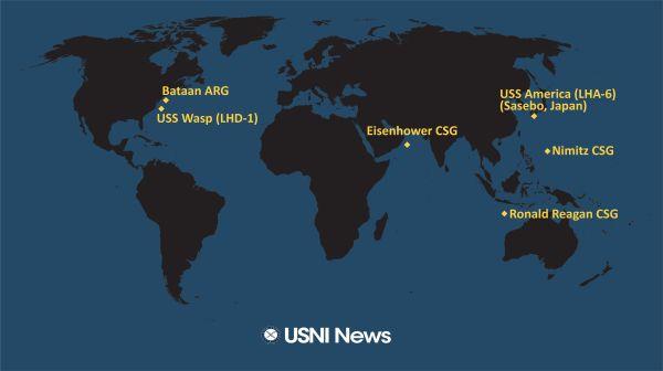 观察者网一周军评:在南海被围观的美国航母,掀不起什么风浪