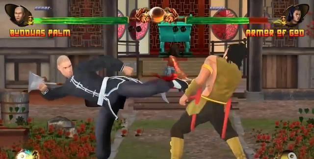 格斗冷饭游戏《少林与武当》8月14日登陆Switch