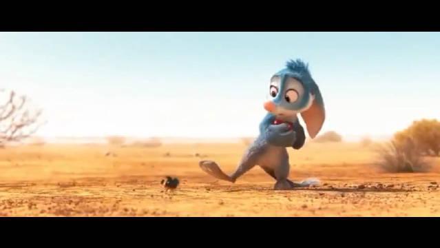 推荐一部超级治愈的动画短片《兔耳袋狸》……