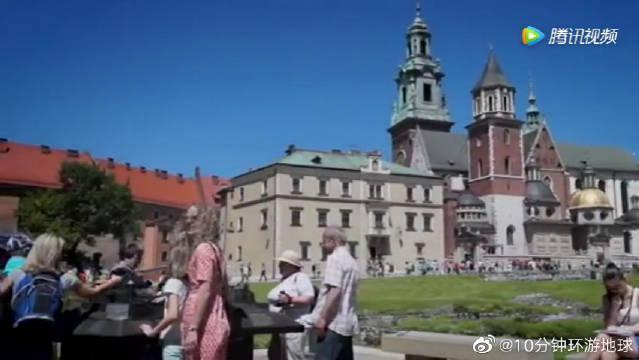 瓦维尔王宫城堡,千年波兰古堡,欧洲中世纪文化