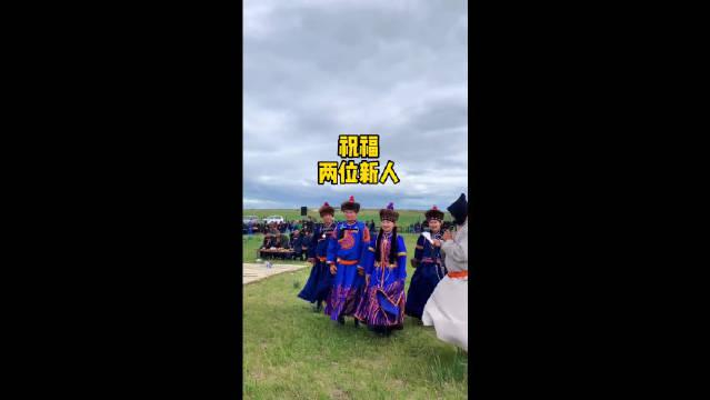 蒙古族很注重婚礼仪式,尽管地区不同,形式各有差异……