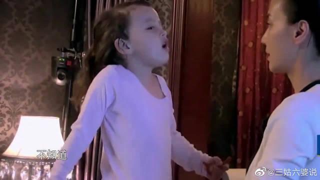 米雅四岁还不会自己提裤子? 马雅舒还要帮她……