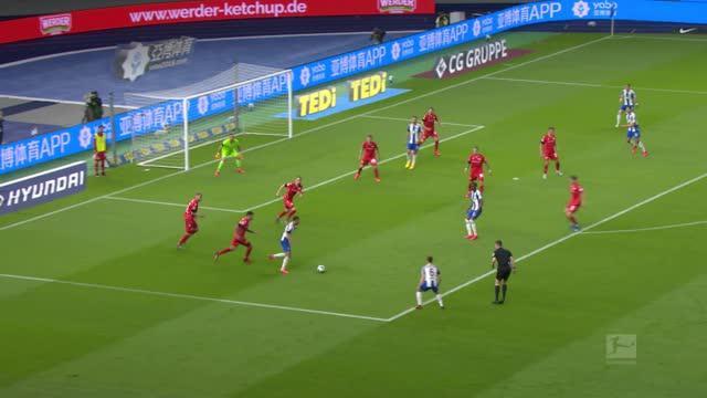 德甲19/20赛季3 0 大战役🔥 ⚔️ 柏林赫塔 4-0 柏林联 ⚔ 柏林德