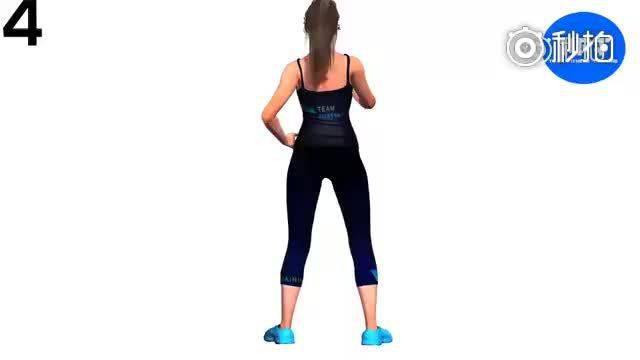 深蹲、臀桥、箭步蹲,坚持4周,打造你的翘臀!