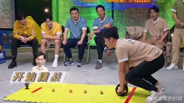 李晨挑战用嘴写字~ 所有人都看呆了! 不愧是大黑牛啊!