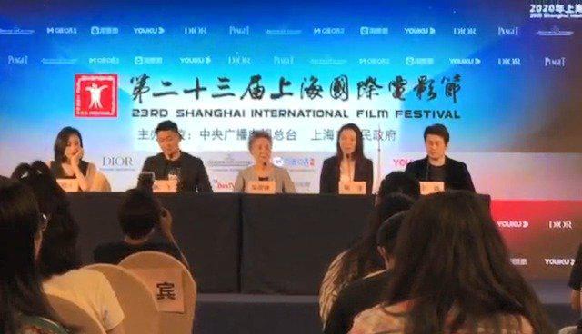 导演鹏飞在上分享合拍片《又见奈良》的创作初衷……