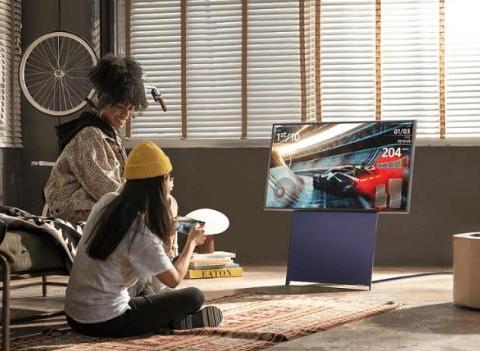 三星推出旋转屏幕电视荷兰发售,模仿TCL和海信?