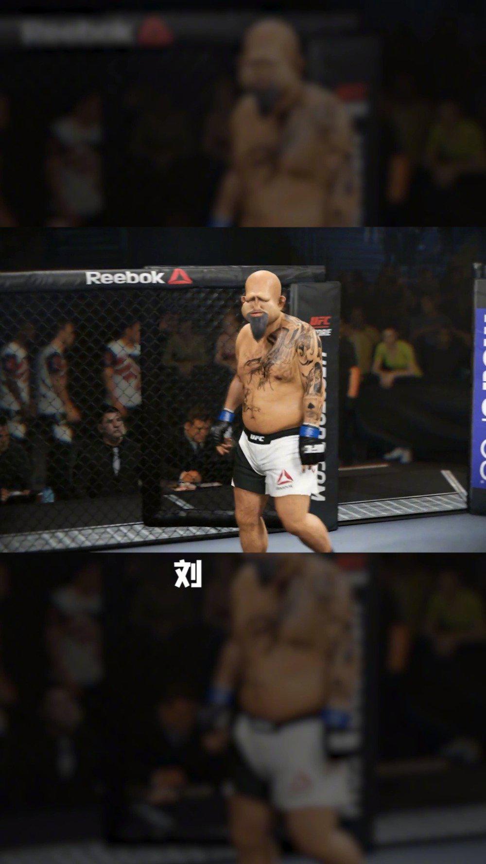 """在线""""解说""""UFC,""""中华武术宗师""""刘大脚的比赛……"""