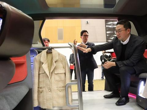 现代汽车和LG电子合作研发未来汽车内饰概念