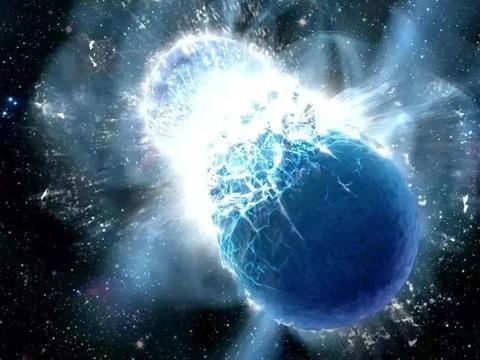 产生了引力波,在银河系中发现:迄今最大质量的两颗中子星碰撞!