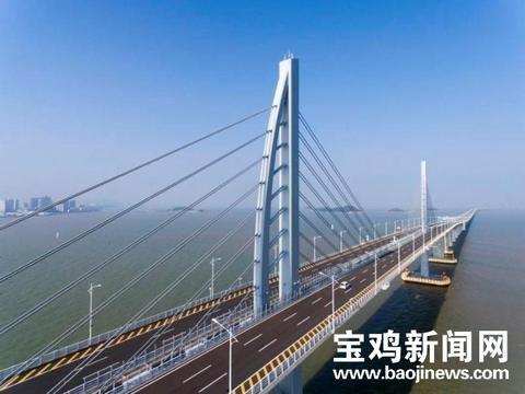 中铁宝桥参建港珠澳大桥荣获国际桥协杰出结构奖