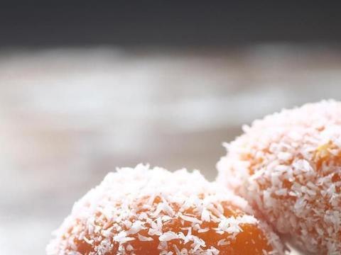 香草冰淇淋糯米糍,软糯弹牙,是比空调更解暑的夏日甜品