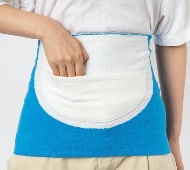 哆啦A梦四次元口袋实体化!日本品牌推出设计「四次元口袋腹卷」