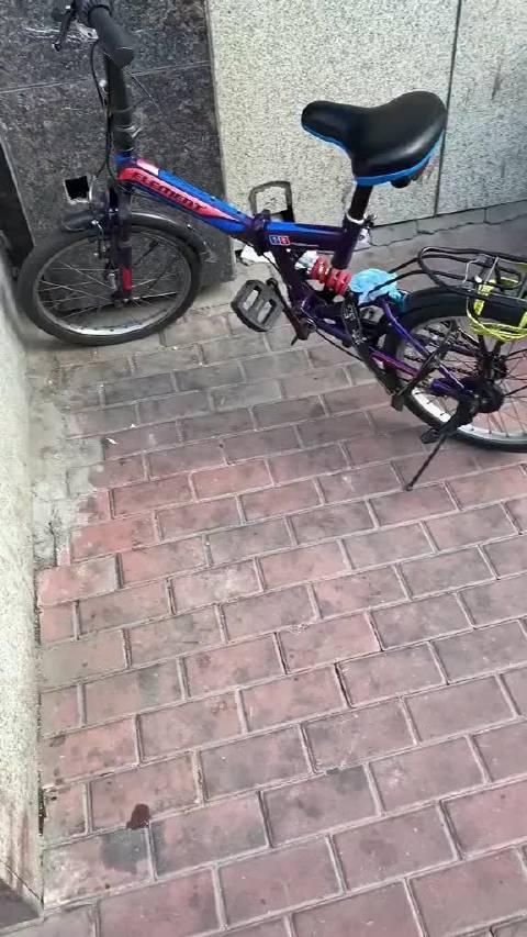 网友投稿:拆卸哈罗单车配件组装到自己车上……
