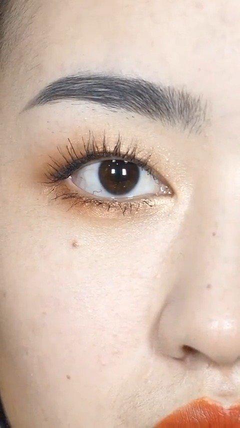 单眼皮|肿眼泡眼线干货技巧