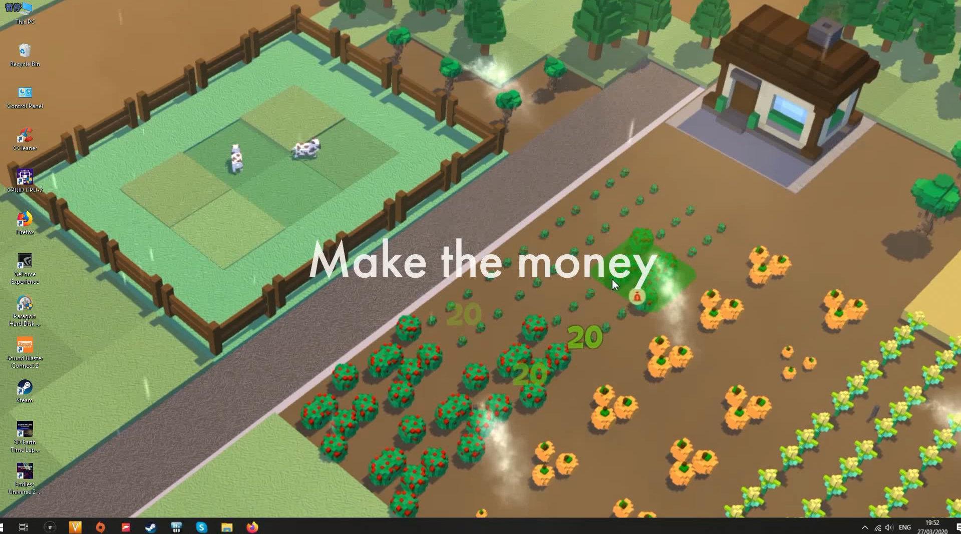 划水摸鱼神器——像素风种田游戏《桌面农场》登陆Steam