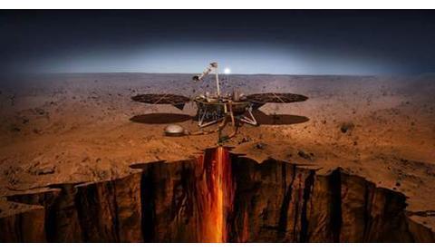 火星表面的奇怪物质,证明火星曾存在过高级文明,最后毁于核战