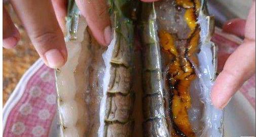 女子在市场买了一只皮皮虾, 破壳后感觉不对,老公看后不淡定