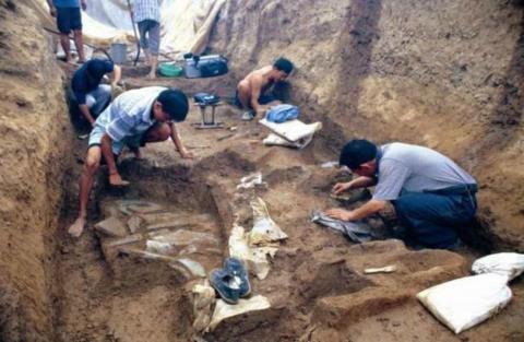 三峡工程特大发现: 专家挖掘出怪物, 七千年前特异人种重见天日