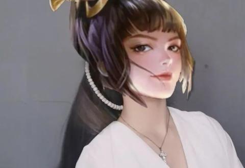 王者荣耀:峡谷头像系列,最美的女英雄是她吗?