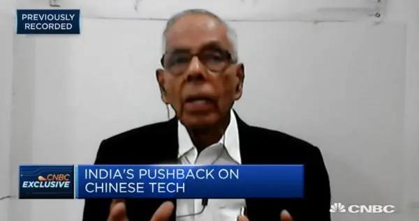 印度前国家安全顾问:印度无法完全切断与中国经济联系