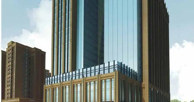 2020年7月成都市国宾商圈写字楼市场租赁情况