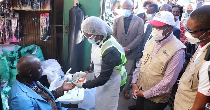 莫桑比克在首都开启新冠流行病学调查
