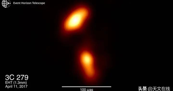 科学家捕捉到黑洞中扭曲的喷流,其细节前所未有