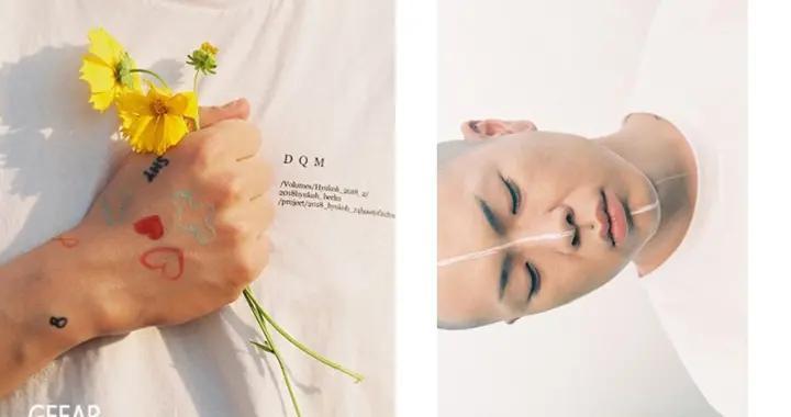 日本人气彩妆品牌邀请韩国乐队hyukoh主唱吴赫拍摄造型
