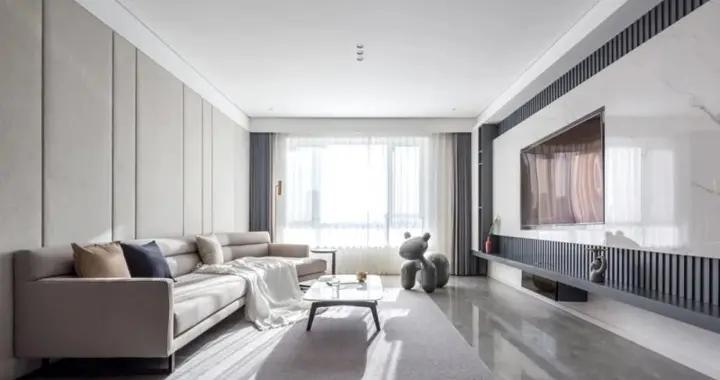 13万块钱装修的220平米的房子,简约风格简直太美了!-招商依云郡装修