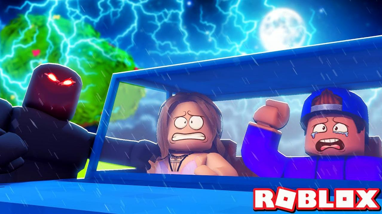Roblox暴风夜故事模拟器:暴风夜大冒险!误入幽灵餐馆?小格解说