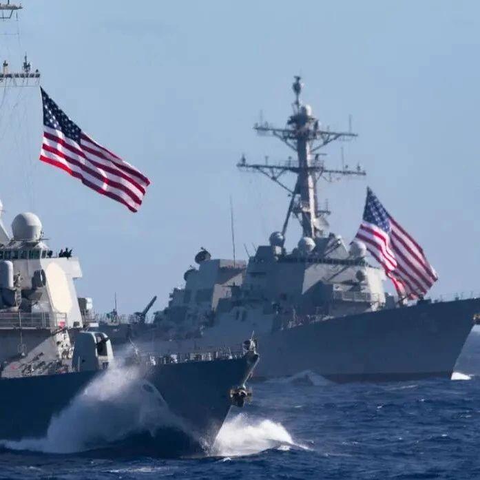 美驱逐舰上又有人离奇死亡,该舰曾频繁现身中国周边