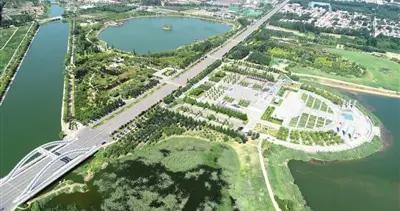 邢台:荒地变湿地休闲好去处