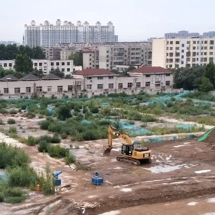挖掘机已进场!记者实地探访,淄博这所学校有重大进展!