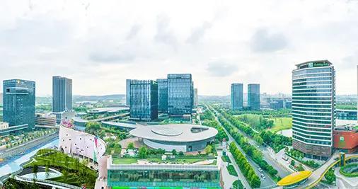 南京上秦淮湿地 打造城市绿色之肺
