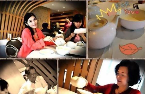 这是广东人们对茶用来烫盘子和筷子消毒的习俗着迷吗?不