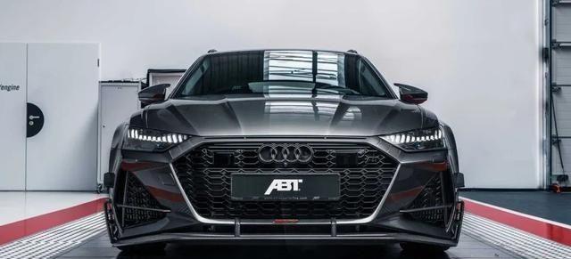 史上强大的蔬菜车,ABT描绘了洪荒野兽奥迪RS6-R