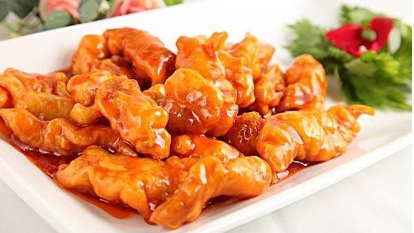 吃货美食:川味红烧鸭,糖醋里脊,五花肉香煎豆腐煲,凉拌蕨菜