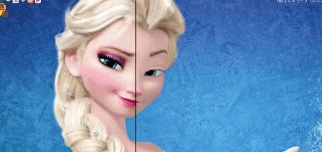 冰雪奇缘2:前方慎入!女王艾莎在线卸妆,安娜:这还是我姐吗?