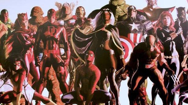 英雄壁画如何制成?一幅英雄集结的巨幅壁画幕后制作视频……