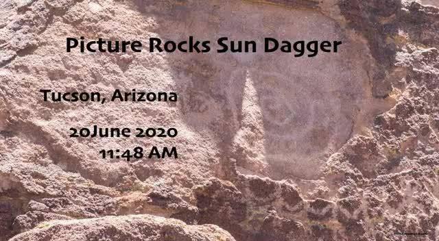 太阳匕首岩画