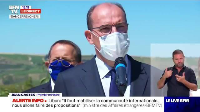 法国总理Jean Castex宣布将派遣驻在马赛的水兵消防员很快前往黎