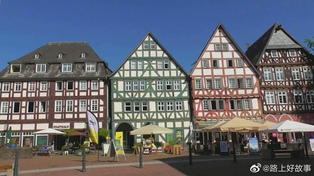 德国黑森州格林贝格和阿尔斯费尔德中世纪风格的小镇!